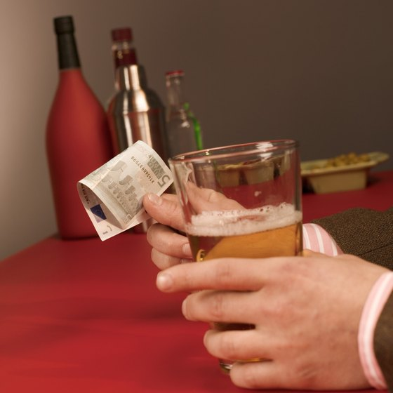 Catering with a cash bar means taking measures to prevent theft.