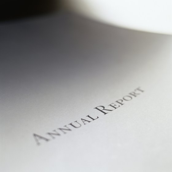 Annual reports provide detailed financial information about public companies.
