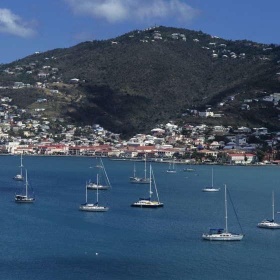 A U.S. citizen doesn't need a passport to visit St. Thomas.