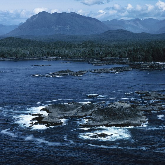 Clayoquot Sound is one of the wilder places on Vancouver Island.