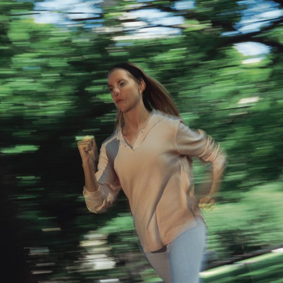 Brisk walking can be an appetite suppressant.