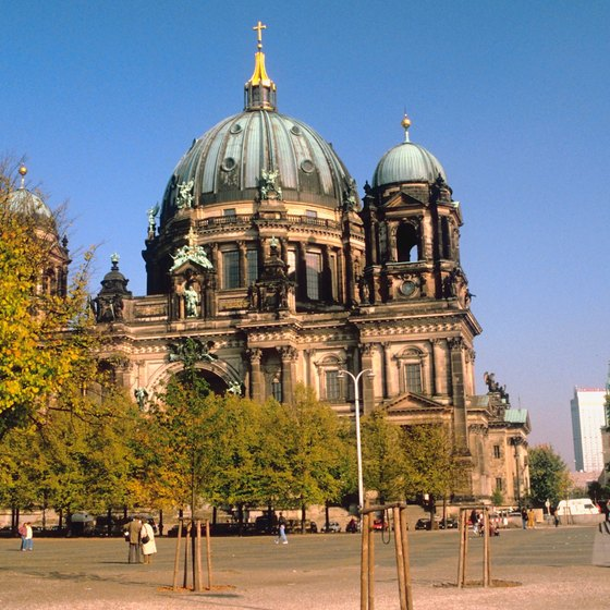The Berlin Cathedral is one of many historic sites within the city limits.