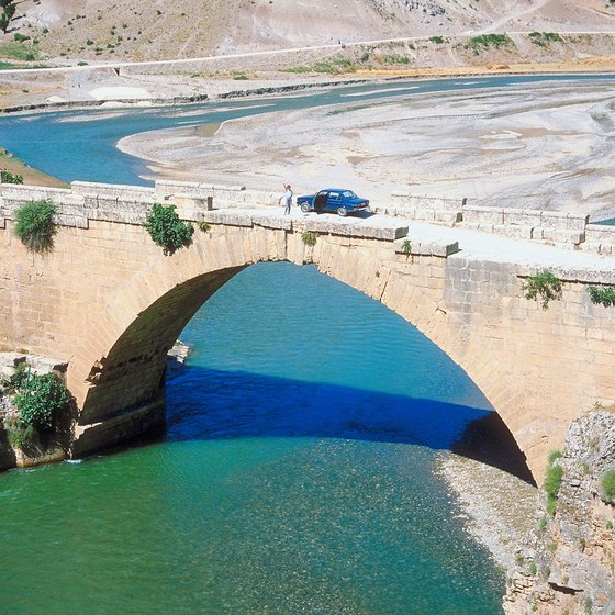 The Euphrates River is the longest river in Southwest Asia.