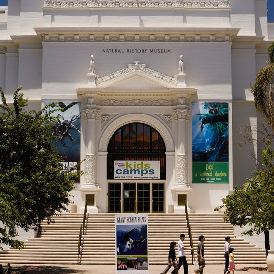 San Diego's Natural History Museum offers hands-on, kid-friendly exhibits.
