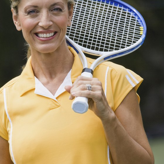 Tennis is a high-impact activity that can damage your knees.
