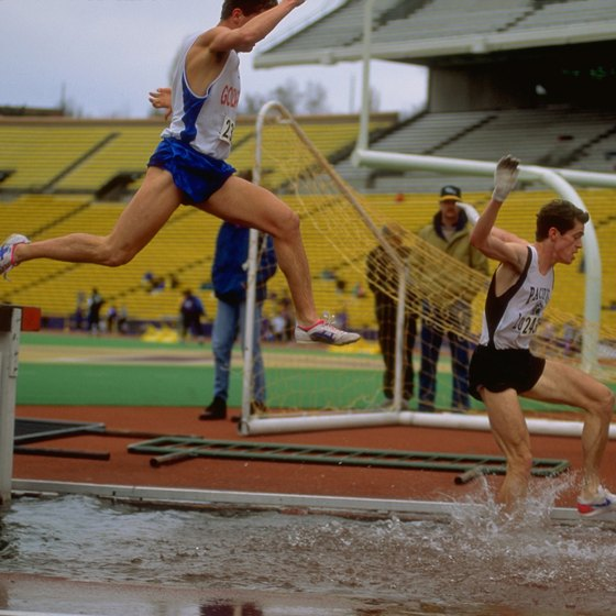 Coordination and flexibility factor into running technique for the steeplechase.