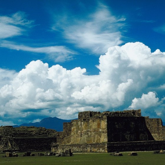 A stellar view of the Oaxaca Valley no doubt influenced the builders of Monte Albàn.