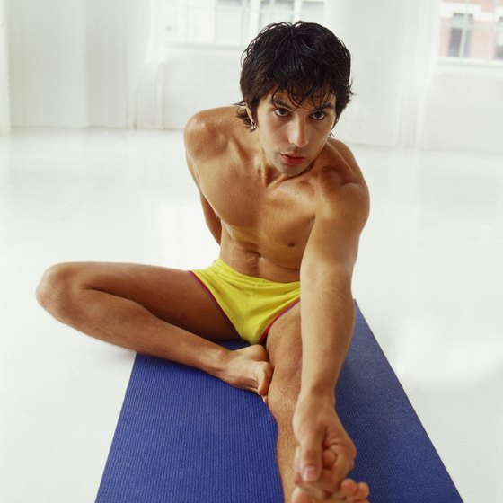 Bikram yoga builds strength, balance and flexibility.
