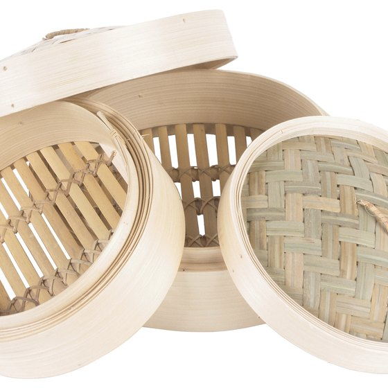 Use a bamboo or metal steamer basket.