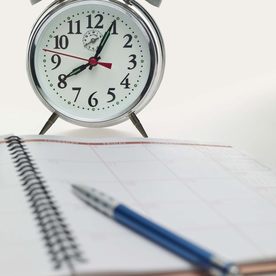 To manage time effectively, decide on your priorities, set goals and use a time planner.