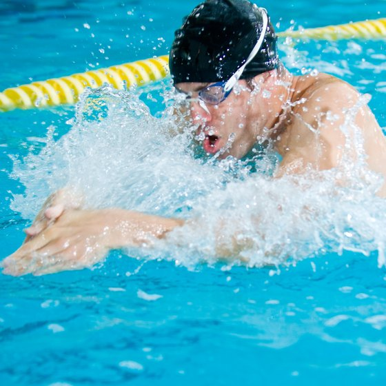 Properly timing your breathing, kicking and pulling is essential in breaststroke.