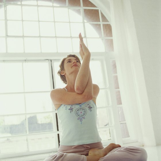 Use transition poses in yoga to reset your breathing and refocus your practice.