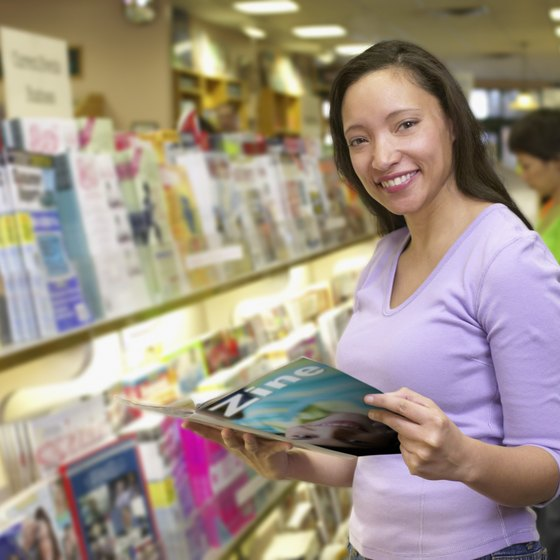 Wide availability is a key driver of magazine sales.