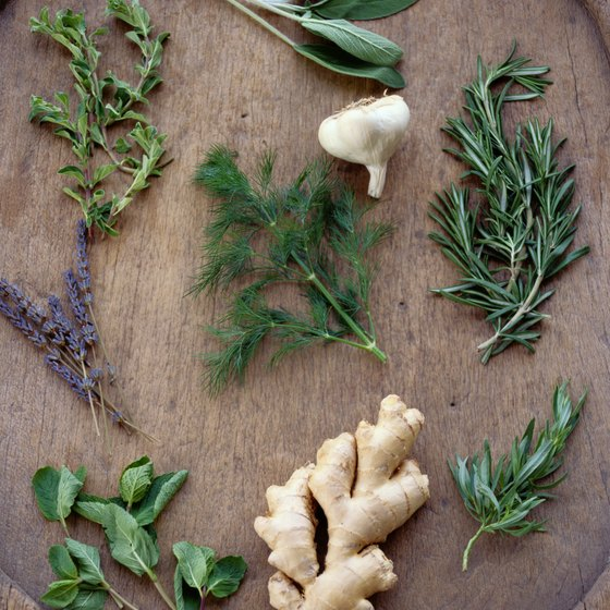Some herbs act as antioxidants to fight free radical damage in your body.