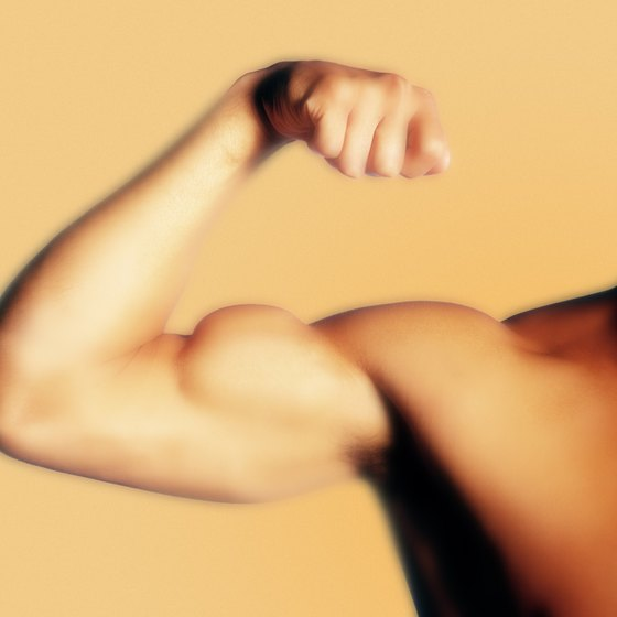 Persistent twitching of the biceps muscle may be benign.