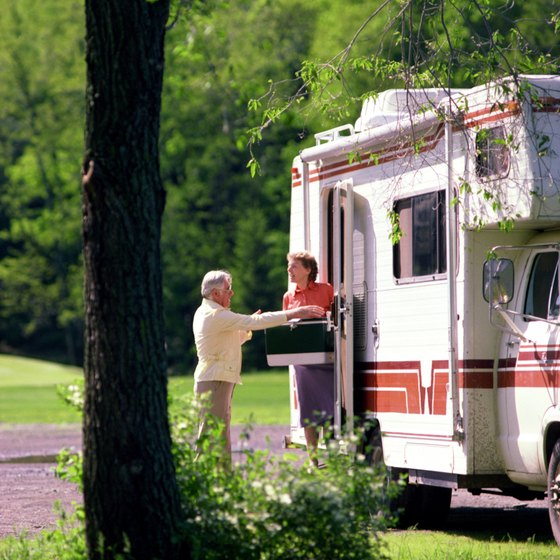 Some RV campgrounds in Orange County are in a wilderness setting.
