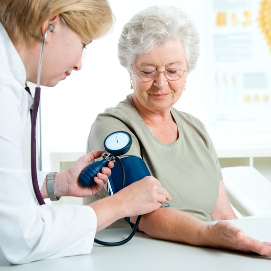 Healthy blood pressure levels are below 120/80.