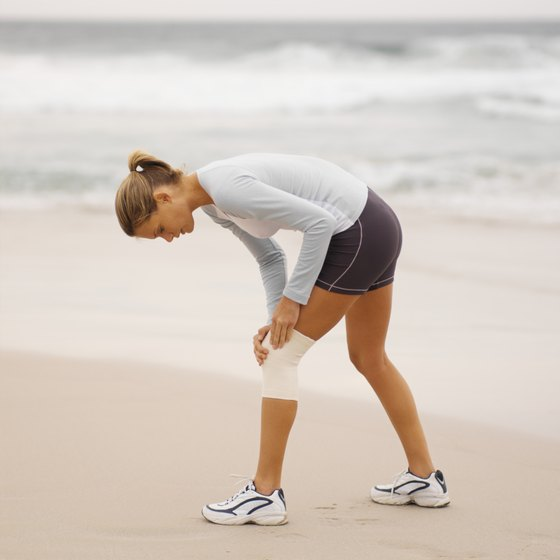 The source of your knee pain may be weak gluteal muscles.