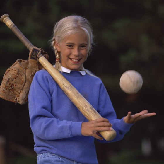 Make sure your bats meets slow-pitch softball rules.