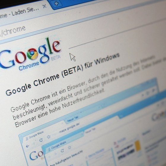 Google Chrome's portable edition can be accessed directly from a flash drive.