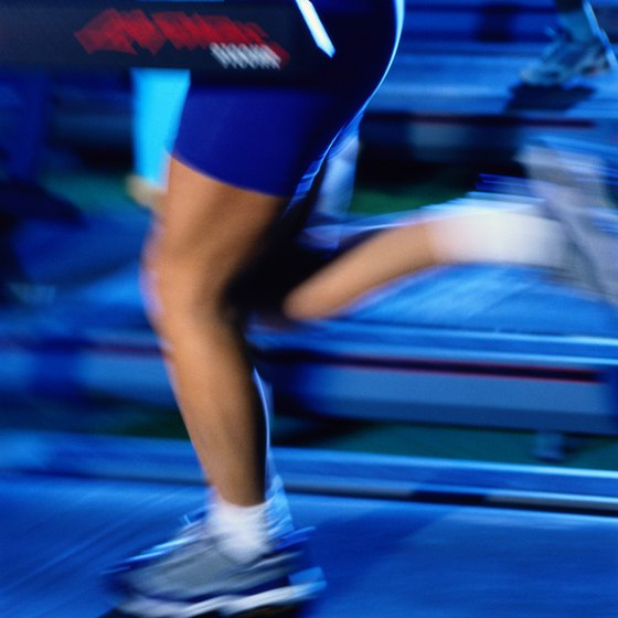 Running intervals on the treadmill helps improve your speed and endurance.