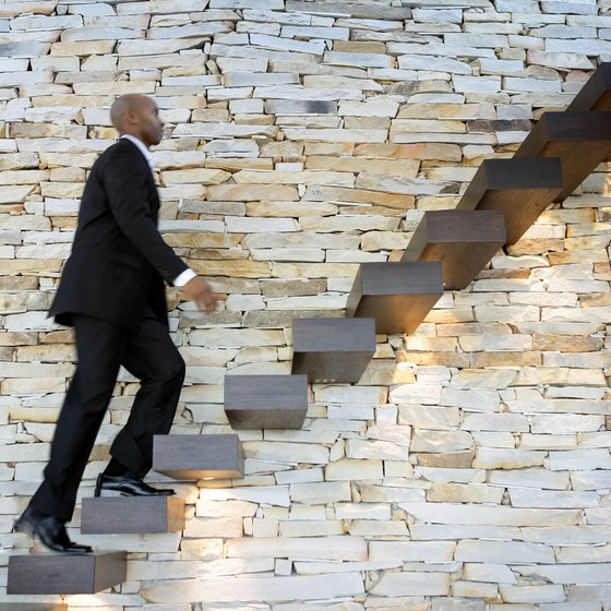 Climbing the stairs at your office is an effective way to exercise.