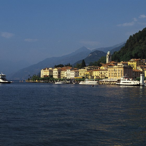 Lake Como is the most prominent lake in the Lombardy region.