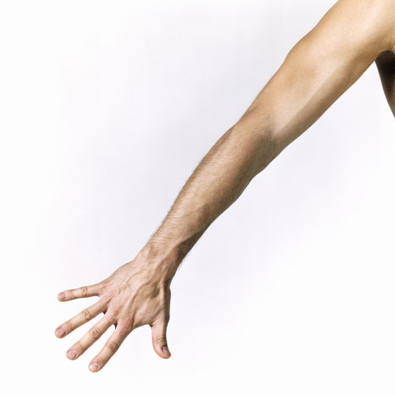 how to make your arms look less fat