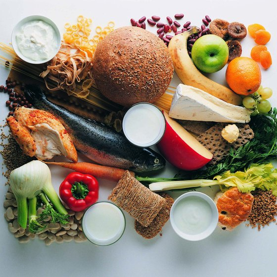 Food choices for the Blood Type diet include protein, grains, produce and dairy.