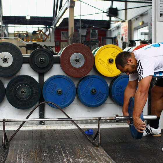Build up your deadlift gradually to avoid injury.