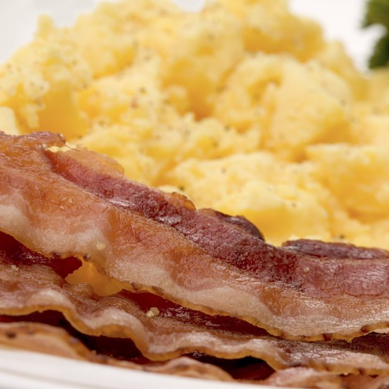 Bacon and turkey bacon both contain saturated fat and sodium, so don't make them a regular part of your diet.
