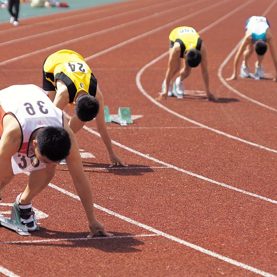 Distance runners can benefit from a range of track workouts.