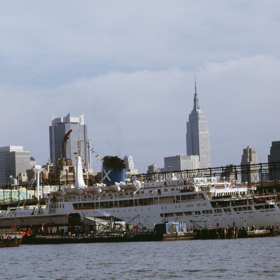 New York City cruises offer different scenery.