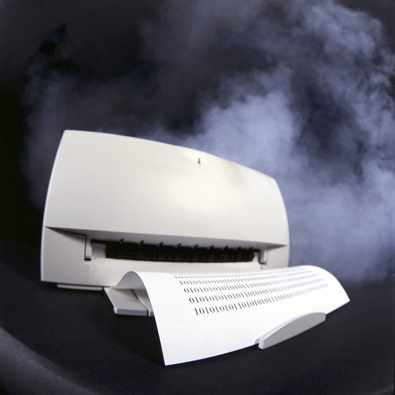 Toner dust can stay in the air for hours prior to settling.