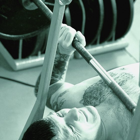 Having difficulty lifting weights is a sign that you're not getting stronger.