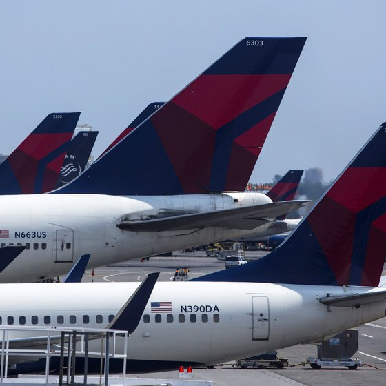 SkyMiles is Delta's frequent-flyer program.