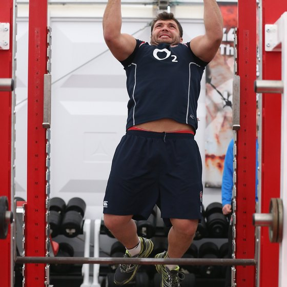 Perform neutral grip pull-ups with your hands turned inward.