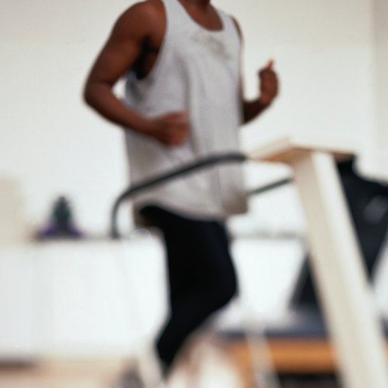 Aerobic exercise, like running on a treadmill, will help you lose weight.
