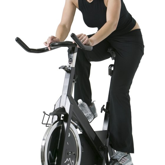 High-intensity intervals on a stationary bike increase all-day calorie burning.