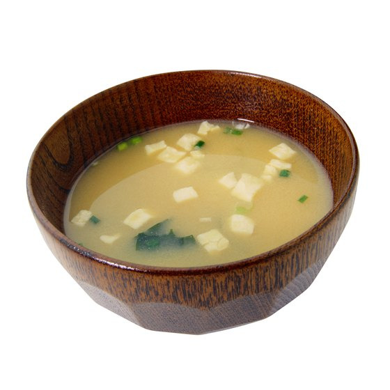 Miso soup is a staple in Japanese diets.