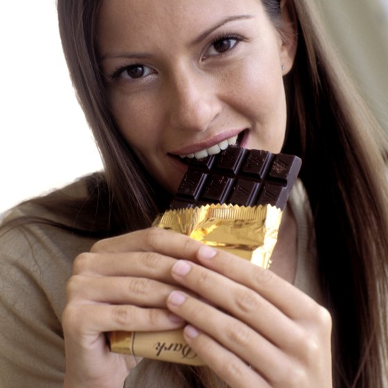 Eating a small amount of chocolate each week can be beneficial.