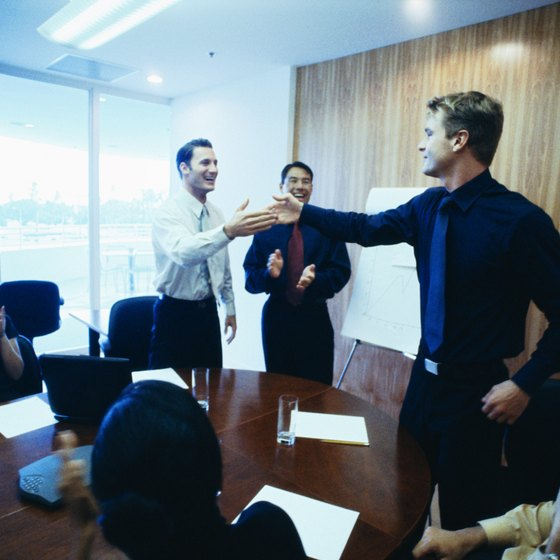 Meetings become lively exchanges when everyone interacts.