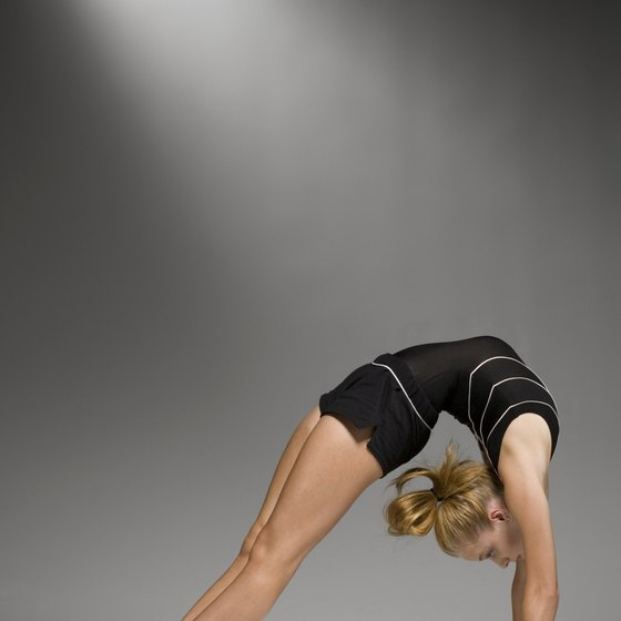 Certain stretches, such as a bridge, will help you perform the back walkover