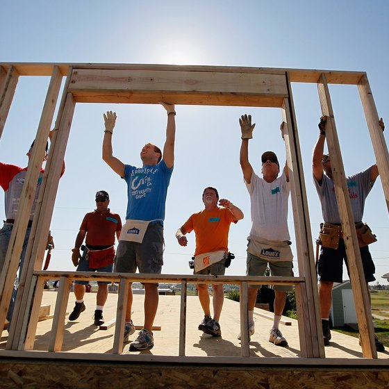 Habitat for Humanity is a 501c3 nonprofit organization.