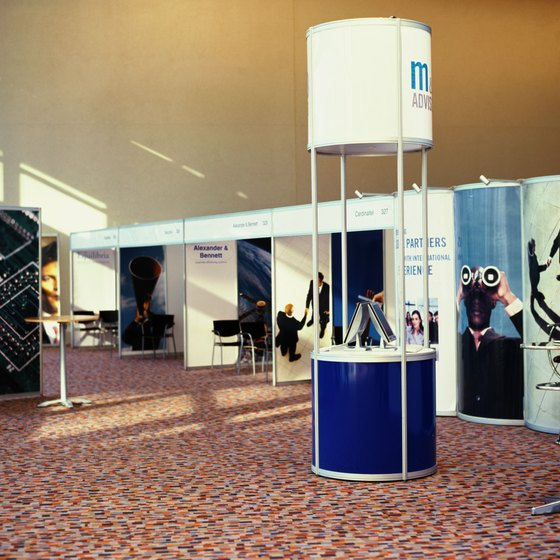 Make sure your booth looks as appealing as possible, including adding color and making sure the booth is clean.