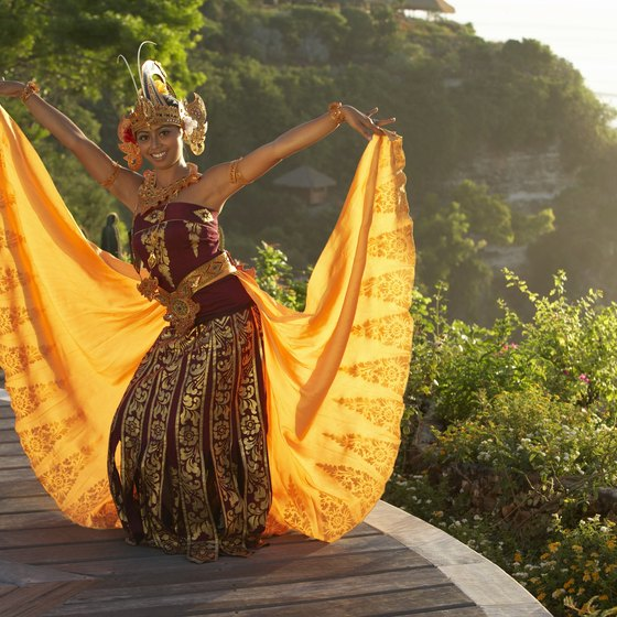 Traditional Indonesian dance is rooted in religious meaning.