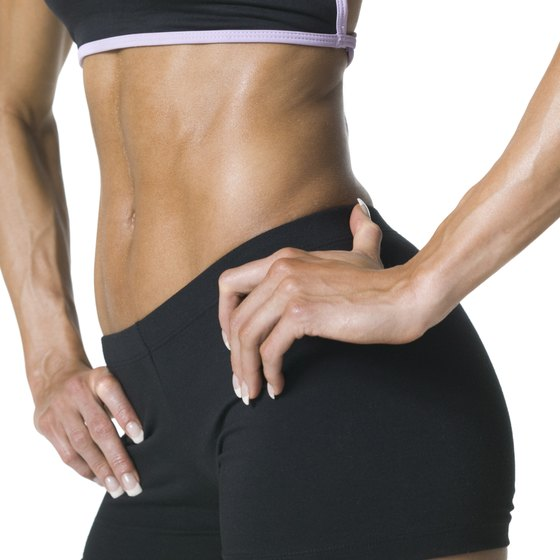 Get rid of belly fat by increasing training intensity and regulating food intake.