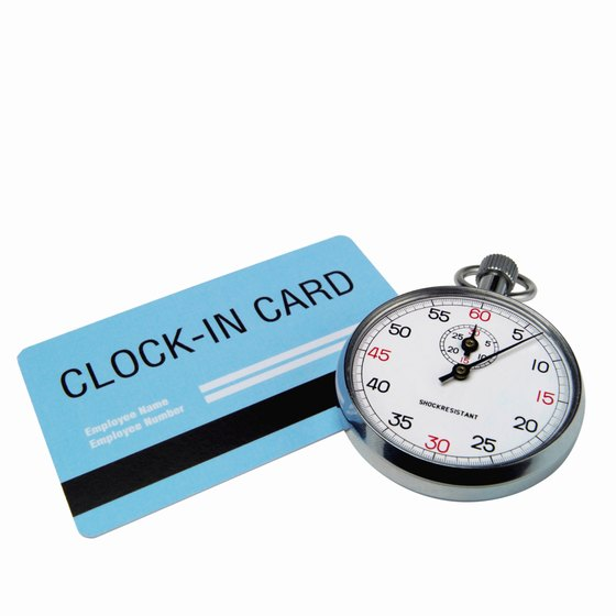 Implement a timekeeping system that suits your company's needs.