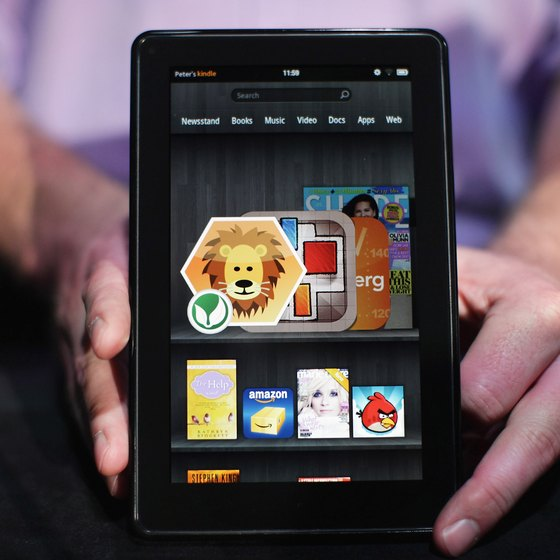 Reset your Kindle Fire HD to fix freezing screens.