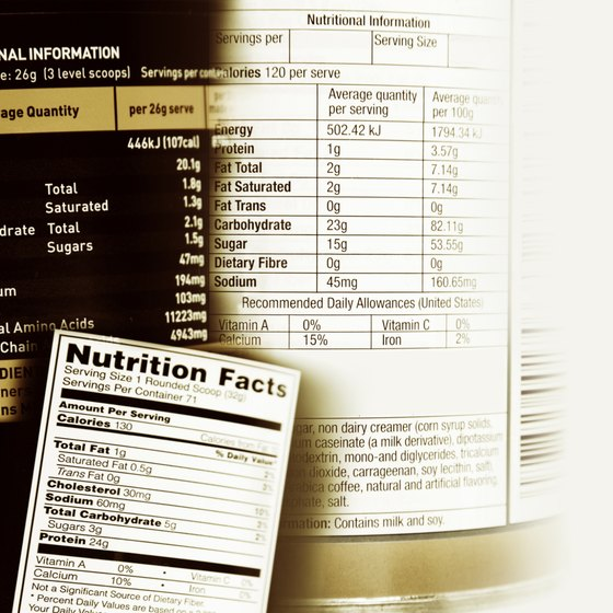 Use info on the label to track your daily fat intake.